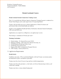Cover Letter For Dental Assistant Traineeship No Experience Cover