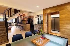 Hdb Em Interior Design Syrb Em Tampines Syrb Modern Interior Design Wood