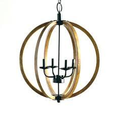 wood orb light wood ball chandelier chandeliers stylish wooden orb light fixture rustic design spherical divine