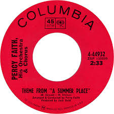45cat percy faith his orchestra and chorus theme from a summer place o tomorrow columbia usa 4 44932
