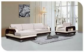 modern wood sofa set