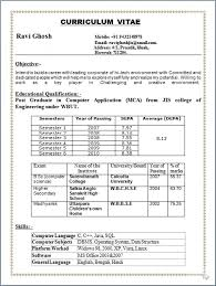 Ideas Of Pharmacy Resume For Freshers On Sample Format B Throughout ...
