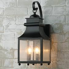 cottage outdoor lighting. Homesteader Seeded Glass Outdoor Wall Lantern Design Of Cottage Lighting