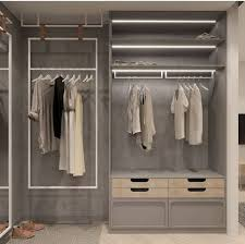 ideas de closets sencillos y modernos