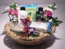 house guest gift basket filled with travel size toiletries yelp