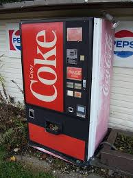 Nuka Cola Vending Machine For Sale Magnificent Vintage Coke Machine OLD SCHOOL Pinterest Coke Machine