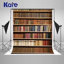<b>Kate</b> 10x10ft <b>Retro</b> Bookcase Photography Backdrops Books ...
