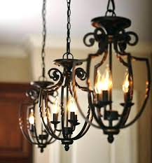 spanish style chandelier chandelier wrought iron c style
