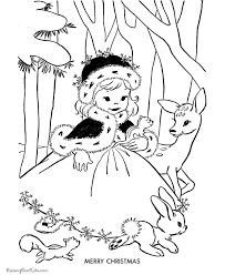 Free Kid S Christmas Coloring Pages Merry Christmas