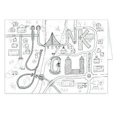 Thank You Cards Coloring Pages Thank You Card Coloring Page Thank