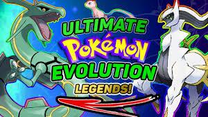 Ultimate Pokemon Evolution Tree How Every Pokemon Evolves Explained 11 Legendary Pokemon