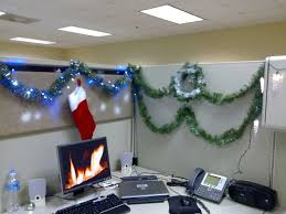 christmas office decoration. fire background for the computer holidaychristmas decoration christmas office t