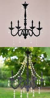 weddingstar black chandelier silhouette wall decoration set of 2