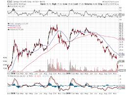 Extreme Option Profits Chart Of Day Canopy Growth Cgc