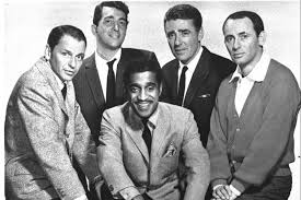 Rat Pack vs. the hippie Trump and Clinton are from opposite ends.