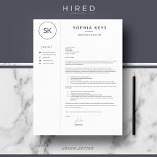 Resume Template Design Modern Resume Template Archives Hired Design Studio 88