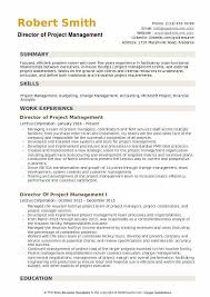 Definition Of Functional Resumes Director Of Project Management Resume Samples Qwikresume