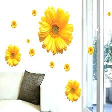 wall arts daisy wall art beautiful image collection decor decal fl decals flower nursery