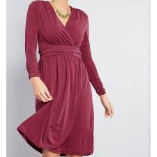 Nwt Modcloth Don And Done Knit Dress Long Sleeve Nwt