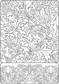 art nouveau coloring pages art colouring sheets