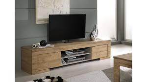 Meuble Tv Design 2 Portes Et 1 Niche Mila Meuble Robuste Au
