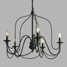 dining room decorating ideas kitchen chandelier black rod iron light contemporary fixtures decor glass rustic wood and candle living homemade mid century