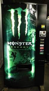 Monster Vending Machines Enchanting Monster Soda Pop Water Can Bottle Vending Machine Dixie Narco 48 E
