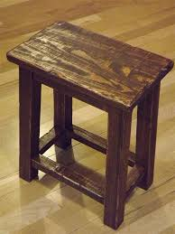 Rustic/ Reclaimed wood/ Farmhouse/ stool/ Sitting stool/ Primitive/ small/