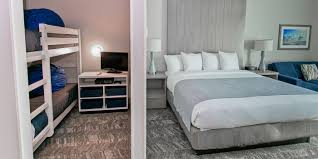 Kids Bedroom Suite Beachfront King Bed Room Tides Hotel Orange Beach Al