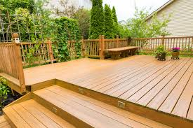 building a deck on sloped