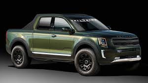 Kia Telluride-Based Rendering Proposes A Lifestyle Truck