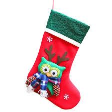 Us 792 Neu Kommen Weihnachtsmann Schneemann Weihnachten Strumpf Dekoration Christbaumschmuck Weihnachten Süßigkeiten Beutel Geschenk Halter Für