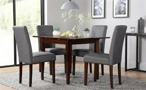 dark wood dining room furniture. devon dark wood extending dining table with 4 city slate chairs room furniture r