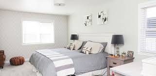decorate bedroom with white walls top