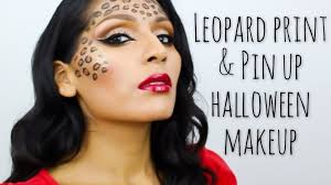 tutorial y leopard print pin up makeup beautybymariela