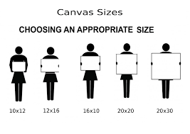 Canvas Size Chart Canvas Sizes John Morris Art From The Heart