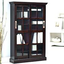 bookcases ameriwood glass door bookcase bookcases with doors archives home maximize ideas oak near