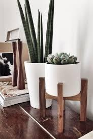 impressive plant pot stand indoor 43 pots stands wooden vintage tall handmade tiered flower uk