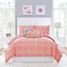 vera bradley cuban tiles comforter set twin twin xl 130 liked on polyvore featuring home bed bath bedding comforters c reversible comforter