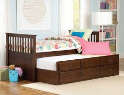 ... Kids Furniture, Kids Trundle Bed White Trundle Daybed Affordable Twin Trundle  Bed For Kids With ...