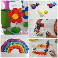 Bottle Cap Decorations Get Crafty With These Fun And Creative Diy Bottle Cap Ideas Bottle 48