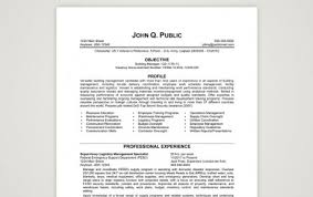 military resume samples supervisory logistics management specialist federal resume sample