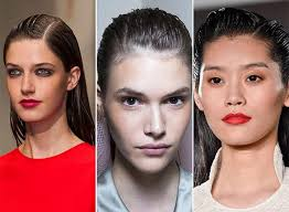 09 Mokry Vzhled Wet Look Trendy Ucesy Pro Jaro Leto 2015 Vlasy A účesy