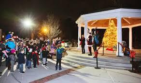 Tree Lighting Reading Ma Santa To Visit Mashpees Annual Holiday Tree Lighting