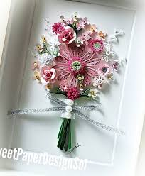 Paper Quilling Flower Bokeh Paper Quilling Art Sweet Paper Design Sol In The Frame