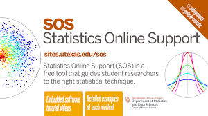 introducing statistics online support sos using statistics appropriately is a challenge for scientists at many levels not just freshman and we hope that the sos site will help get our students