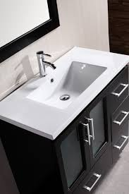 stanton 36 inch contemporary bathroom vanity set design element stanton 36 single bath vanity