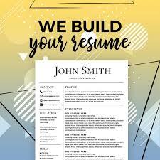 Resume Service Resume Creator Online Resume Maker Build My Resume Creative Resume Design Write A Killer Resume Online Resume Builder