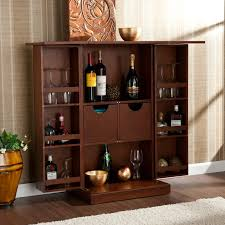 Wine Bar Storage Cabinet Wildon Home R Boswell Bar Cabinet With Wine Storage Reviews
