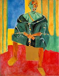 le rifain assis henri matisse visual candy henri matisse french le rifain assis seated riffian oil on canvas 200 x 160 cm barnes foundation merion pennsylvania usa
